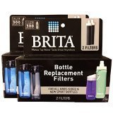 Brita Hard Sided and Play Bottle Replacement Filter (4 count)