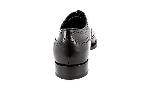 Prada Mens 2eb126 Chaussures Daffaires En Cuir Pleine Brogue