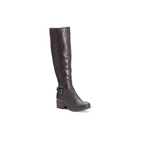 Croft & Barrow Women's Ortholite Riding Dark Brown High Knee Boots, 7.5 M