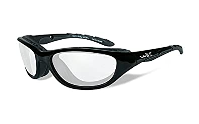 108991ab8e Image Unavailable. Image not available for. Color  Wiley X AirRage  Sunglasses with Clear Lens 693
