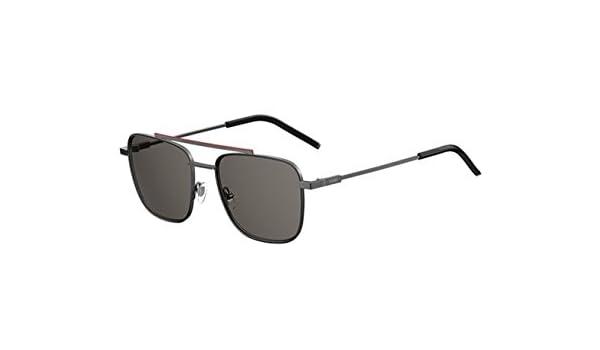 b64a09caccd7 Amazon.com  New Fendi AIR FF M 0008 S KJ1 M9 Dark Ruthenium Grey Sunglasses   Clothing