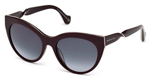 Sunglasses Balenciaga BA 51 BA0051 69W shiny bordeaux / gradient blue