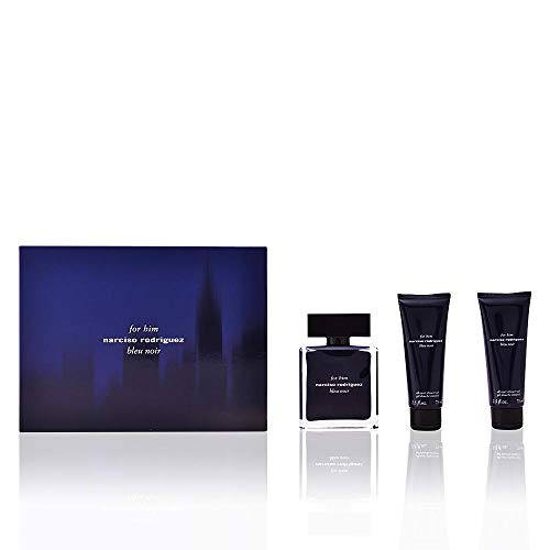(Narciso Rodriguez Bleu Noir for Men 3 Piece Gift Set)