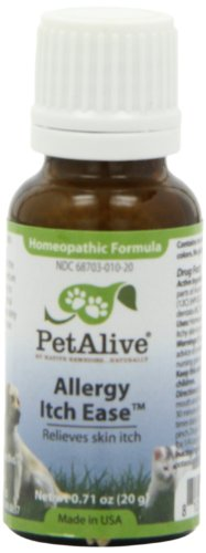 PetAlive Allergy Itch Ease, 20-Gram Bottle