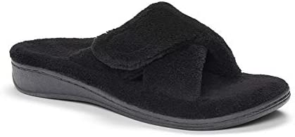 03ee434ff06 Vionic Women s Indulge Relax Slipper - Ladies Adjustable Slippers ...