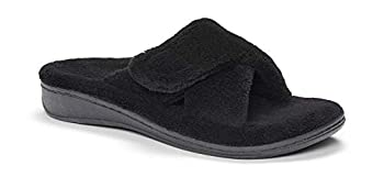 orthofeet charlotte plantar fasciitis flat feet diabetic orthopedic leather women's arch support slippers