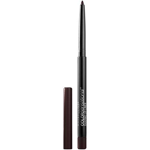 Maybelline Makeup Color Sensational Shaping Lip Liner, Rich Chocolate, Brown Lip Liner, 0.01 oz (Color Lip Rich)