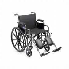 "Invacare Veranda Manual Wheelchair (16"" x 16"" Desk-length Arms Elevating Legrests)"