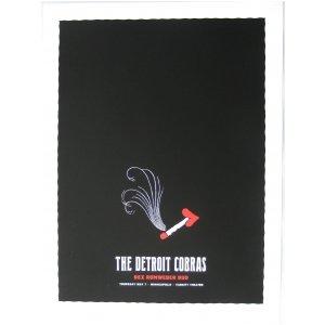 Detroit Cobras Poster w/Dex Romweber Duo 2009 Concert