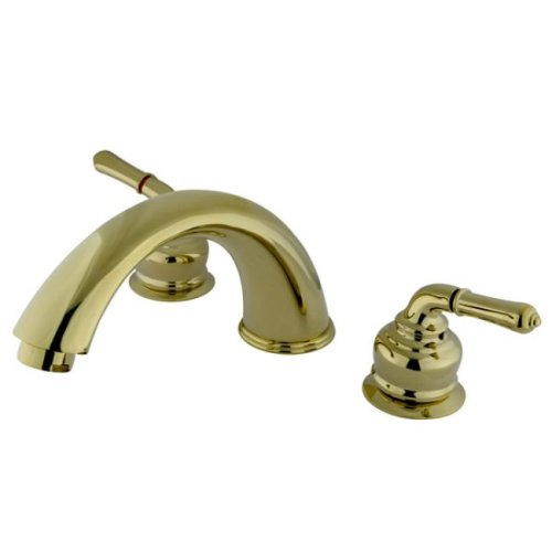 Magellan Roman 12-Inch Projection Spout Tub Filler, Polished Brass ()