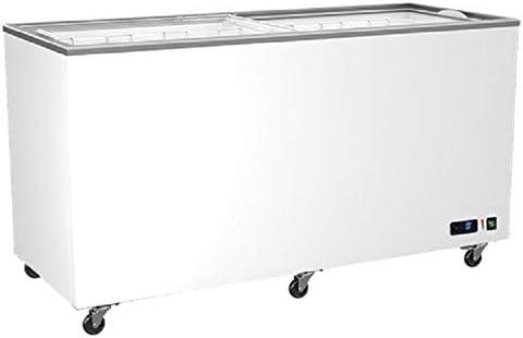 Virtus - congelador de cristal con puertas correderas, 208 a 640 ...