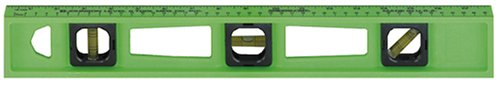UPC 049448771837, Johnson Level & Tool 7718-L 18-Inch Glo Lime Structo-Cast Level w/Rule