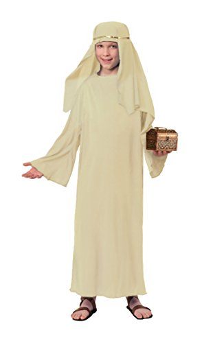 Forum Child's Value Wise Man Costume, Ivory, Small (Kids Wise Man Costume)