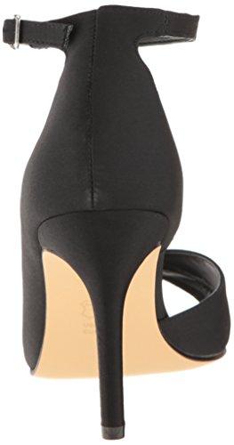 Nina Women's Flo Dress Pump Black Luster Satin yrUUHl2