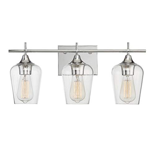 -11, Octave 3-Light Bath Bar, Polished Chrome ()