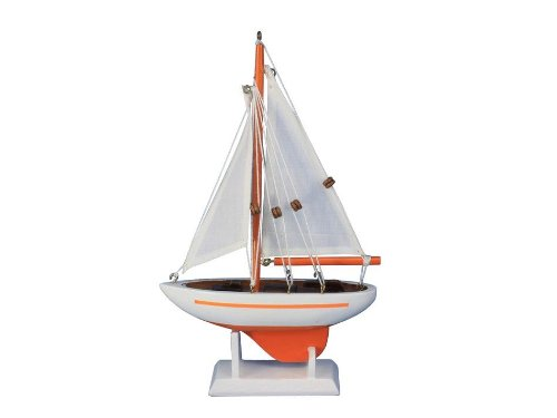 Hampton Nautical  Pacific Sailer Orange 9