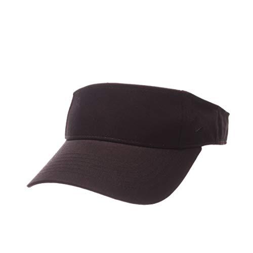 - zephyr graph-x Blank 100% Cotton Adjustable Visor (Black)