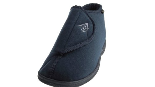 Dunlop , Herren Hausschuhe Blau Dunkelblau
