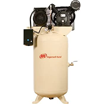 Ingersoll Rand Type-30 Reciprocating Air Compressor - 7.5 HP, 200 Volt 3 Phase, Model# 2475N7.5-V
