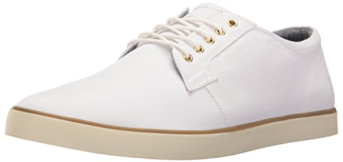 Mens White Casual Shoes - 8