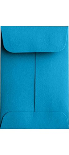 LUXPaper Coin Envelopes, Pool, 2 1/4-Inch x 3 1/2-Inch, 50-Count