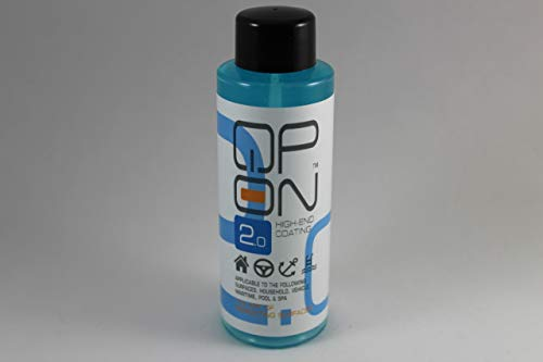 - QP-ON 2.0 Highly Water Repellent Ceramic Car High End Coating | Waterproof for All Vehicle Parts Metal Aluminum Glass Plastic Stone Sealant