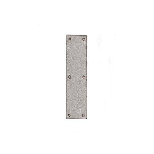(satinnickel) - Baldwin Standard Push Plate B001PBEFKO サテンニッケル サテンニッケル