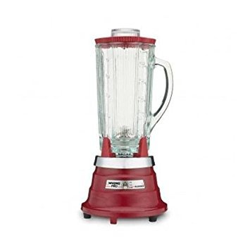 Waring WPB80R Professional Bar Blender with 48-Ounce Jar, (Waring Products Polycarbonate Container)