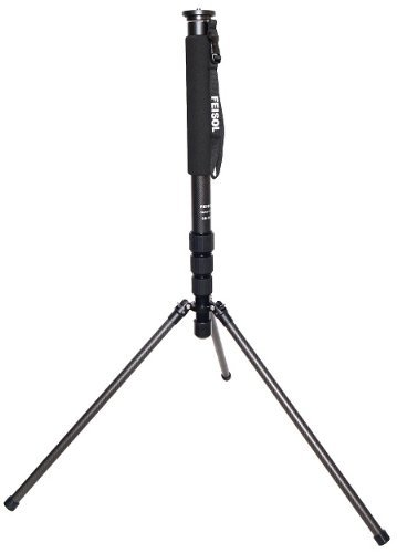Feisol CM-1473 Rapid Four-Section Carbon Fiber Monopod with