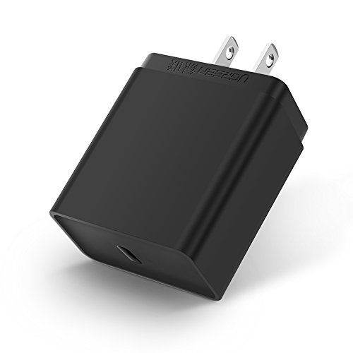 UGREEN USB Type-C 30W Wall Charger With Power Delivery for iPhone 8/X/8 plus,Samsung Galaxy S8/S8 Plus,Macbook, Nexus 6P/5X,Nintendo Switch,Lumia 950 XL,Google Pixel 2 XL,OnePlus 2,Go Pro hero 5