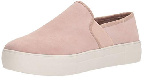 (Blondo Women's Glance Waterproof Sneaker Light Pink Suede 8 M US)