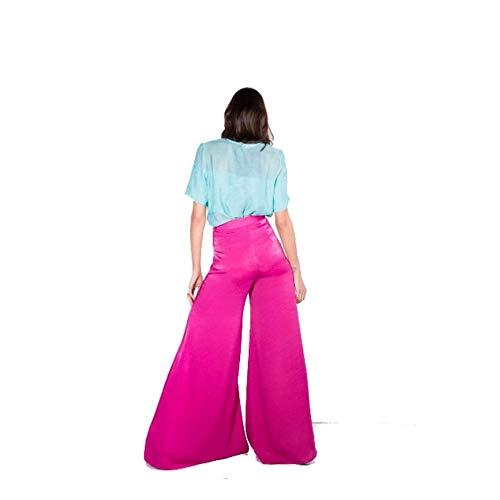 To P223 Pantalone Donna Fucsia Face d58vwx