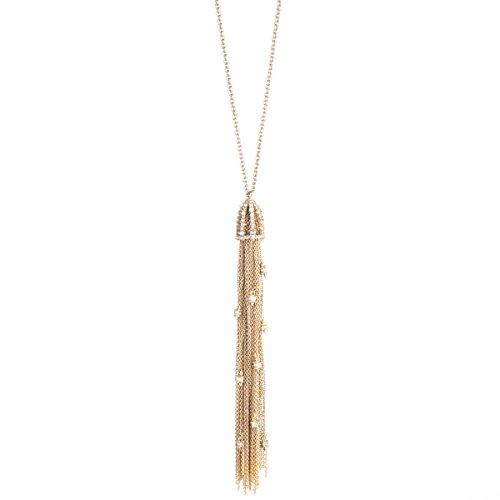 Alexis Bittar Tassle Pending Necklace, 10K Gold