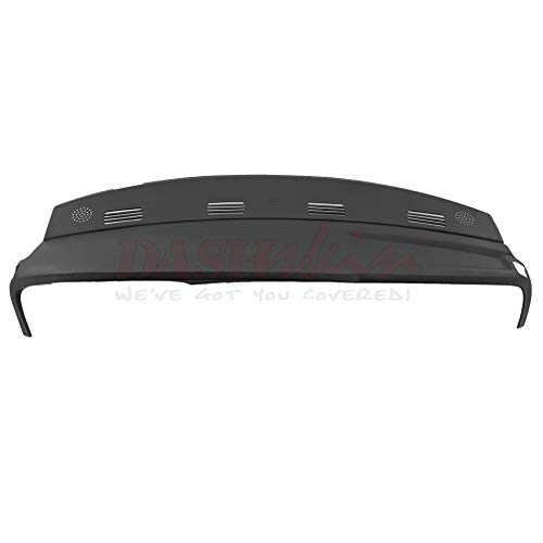 DashSkin Molded Dash Cover Compatible with 02-05 Dodge Ram in Dark Slate Grey ()