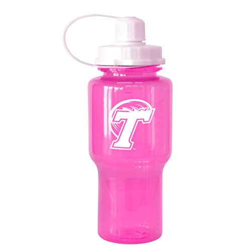NCAA Tulane Green Wave Tritan Travel Mate Pink Water Bottle, 24-Ounce