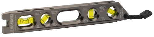 CHECKPOINT 0300PL Pro Mag Precision Torpedo Level, Platinum (Torpedo Aluminum Level)