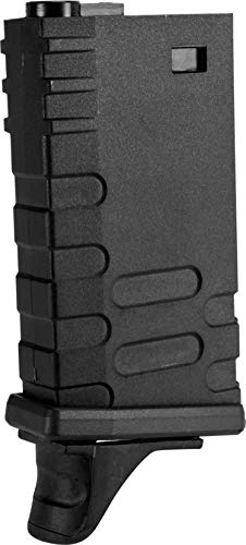 Evike APS 190rd U-Mag Hi-Capacity Magazine for M4 / M16 / UAR Series Airsoft AEG Rifles (Color: Black) ()