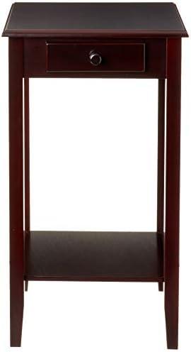 Frenchi Furniture Antique Regalia Table Collection Espresso Finish