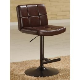 Amazon Com Apa By Whalen Thames Gas Lift Stool Brown