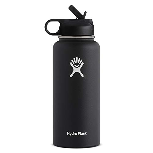 Hydro Flask Wide Mouth Water Bottle, Straw Lid - Multiple Sizes & Colors from Hydro Flask