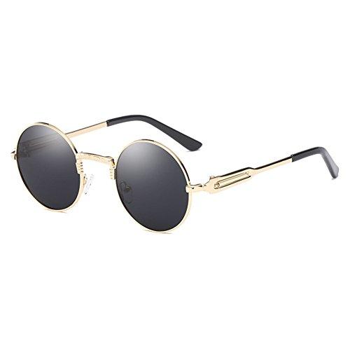 rond verre Punk rétro hommes rond femmes Juleya de nouveau C4 soleil lunettes polarisé soleil Txwa5q7Cn