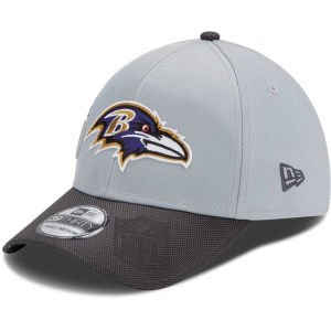 Men's New Era Baltimore Ravens Super Bowl XLVII Champions Trophy Collection 39THIRTY? Structured Flex Hat Small/Medium Baltimore Ravens Super Bowl
