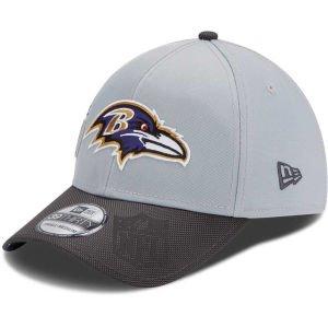 New Era Men's Baltimore Ravens Super Bowl XLVII Champions Trophy Collection 39THIRTY? Structured Flex Hat Small/Medium