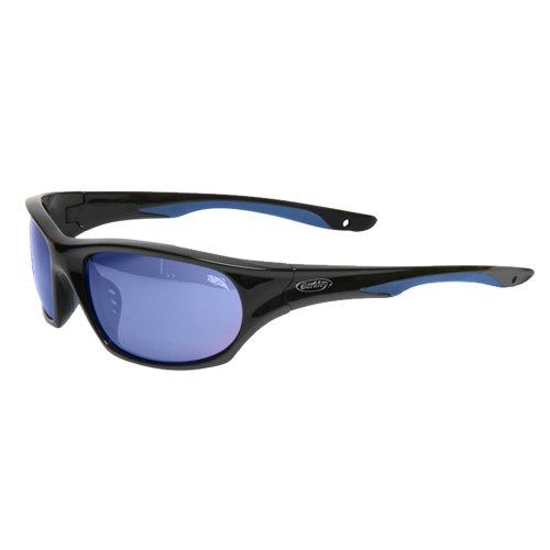 Berkley Bullard Sunglasses Smoke Blue Mirror