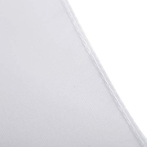 Aluminiumschaft 83 cm langer Profi-Fotoschirm f/ür Studio-Fotografie N//V Tragbarer wei/ßes Nylon-Material lichtdurchl/ässiger weicher Lambency-Regenschirm leichter