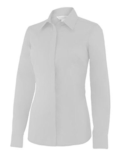 Noble Outfitters Western Perfect Fit Show Shirt (White, Large)
