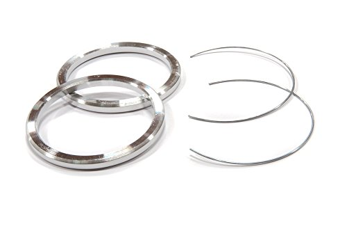 SSR PARTS202 Aluminum Hub Centric Rings (79.5-67.1 (Pair)) by SSR (Image #1)