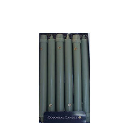 Colonial Candle Colonial Green 8 Inch Classic Dinner Candles