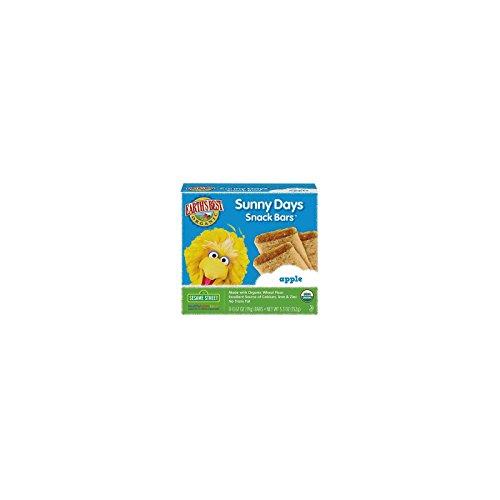 Earth's Best Sesame Street Apple Sunny Days Snack Bars - 8 Bars Earths Best Gift Pack