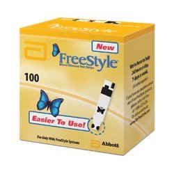 FreeStyle Diabetic Test Strips, 100 ct by Freestyle
